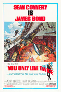 """You Only Live Twice (United Artists, 1967). One Sheet (27.25"""" X 41"""") Style A"""