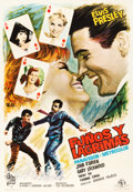 "Movie Posters:Elvis Presley, It Happened at the World's Fair (MGM, 1963). Spanish One Sheet(27.5"" X 39.5"").. ..."