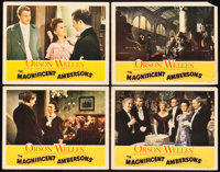 """The Magnificent Ambersons (RKO, 1942). Lobby Cards (4) (11"""" X 14""""). ... (Total: 4 Items)"""