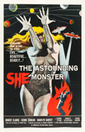 "Movie Posters:Science Fiction, The Astounding She Monster (American International, 1958). OneSheet (27"" X 41.5"").. ..."