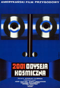 "Movie Posters:Science Fiction, 2001: A Space Odyssey (MGM, 1973). Full-Bleed Polish One Sheet(22.5"" X 33"").. ..."