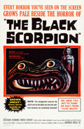 """Movie Posters:Science Fiction, The Black Scorpion (Warner Brothers, 1957). One Sheet (27"""" X 41"""")....."""