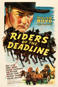 "Movie Posters:Western, Riders of the Deadline (United Artists, 1943). One Sheet (27.5"" X41"").. ..."