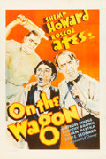 "Movie Posters:Comedy, On the Wagon (Warner Brothers - Vitagraph, 1935). One Sheet (27.5""X 41"").. ..."