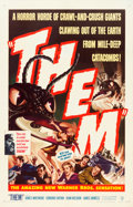 "Movie Posters:Science Fiction, Them! (Warner Brothers, 1954). One Sheet (27"" X 41.5"").. ..."