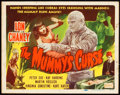"""Movie Posters:Horror, The Mummy's Curse (Realart, R-1951). Autographed Title Lobby Card (11"""" X 14"""").. ..."""