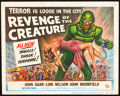"Movie Posters:Horror, Revenge of the Creature (Universal International, 1955). Title Lobby Card (11"" X 14"").. ..."