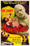 "Movie Posters:Horror, The Mummy's Curse (Realart, R-1951). One Sheet (27"" X 41.25"").. ..."
