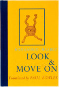 Books:Literature 1900-up, Mohammed Mrabet. Look & Move On. Santa Barbara: BlackSparrow Press, 1976. Limited to 250 copies signed by the...
