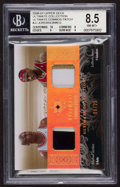 """Basketball Cards:Singles (1980-Now), 2006/07 Upper Deck Ultimate Collection """"Ultimate Combos Patch"""" Jordan/James BGS NM/MT+ 8.5. ..."""
