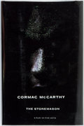 Books:Literature 1900-up, Cormac McCarthy. The Stonemason. A Play in Five Acts. TheEcco Press, 1994. First edition. Octavo. Publisher's o...