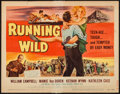 "Movie Posters:Bad Girl, Running Wild (Universal International, 1955). Title Lobby Card (11""X 14""). Bad Girl.. ..."