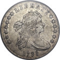 Early Dollars, 1798 $1 Large Eagle, Pointed 9, 10 Arrows, B-13, BB-108, R.2, XF45PCGS....