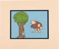 Animation Art:Production Cel, Grog and the Tree B.C. Comic Strip Matted Animation Art Production Cel Setup (1973)....