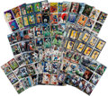 Memorabilia:Trading Cards, Mixed Comics and Football Trading Cards Group (Various Publishers,1990s)....
