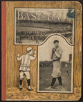 Baseball Collectibles:Others, 1910's Christy Mathewson Notebook....