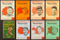 Baseball Collectibles:Publications, 1948-53 Baseball's Immortals Booklets & The Babe Ruth StoryBook Lot of 8....