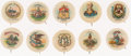 "Non-Sport Cards:Sets, Circa 1900 Sweet Caporal P10 ""State Arms"" Complete Set (48). ..."