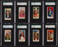 "Non-Sport Cards:Sets, 1910 E50 Dockman & Sons ""Wild West Gum"" SGC Collection (16)...."