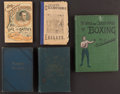 Boxing Collectibles:Memorabilia, 1879- 1919 Vintage Boxing Books Lot Of 5. ...