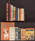Boxing Collectibles:Memorabilia, 1919-76 Vintage Boxing Books & Pamphlets Lot of 18....