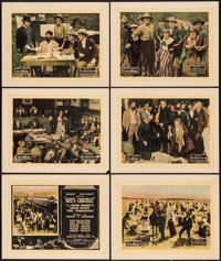 "God's Crucible (W.W. Hodkinson Corporation, 1921). Title Lobby Card & Lobby Cards (5) (11"" X 14""). Dra..."