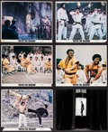 "Movie Posters:Action, Enter the Dragon and Other Lot (Warner Brothers, 1973). ColorPhotos (5) & Photos (9) (8"" X 10""). Action.. ... (Total: 14Items)"