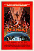 "Movie Posters:Drama, Red Heat (Ocean Film Sales, 1985). One Sheet & Video Poster (27"" X 41"") Regular & Advance. Drama.. ... (Total: 2 Items)"