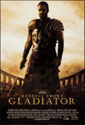 "Movie Posters:Action, Gladiator (Universal, 2000). One Sheets (2) (27"" X 40"") DS Advance& Regular. Action.. ... (Total: 2 Items)"