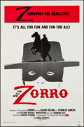 """Movie Posters:Adventure, Zorro & Others Lot (Allied Artists, 1974). One Sheets (3) (27""""X 41"""") & Trimmed One Sheet (27"""" X 40""""). Adventure.. ... (Total:4 Items)"""