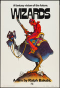 "Movie Posters:Animation, Wizards (20th Century Fox, 1977). One Sheet (27"" X 41"") Teaser.Animation.. ..."