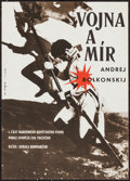 "Movie Posters:Foreign, War and Peace (Mosfilm, 1966). Czech Poster (11.25"" X 15.75""). Foreign.. ..."