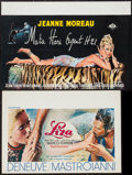 """Movie Posters:Foreign, Mata-Hari Agent H21 and Other Lot (C.C.F.C., 1964). Belgians (2) (16"""" X 23.5"""" and 14.75"""" X 21.25""""). Foreign.. ... (Total: 2 Items)"""