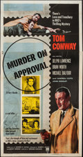 "Movie Posters:Mystery, Murder on Approval (RKO, 1956). One Sheet (27"" X 41"") & ThreeSheet (41"" X 79""). Mystery.. ... (Total: 2 Items)"