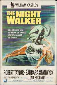 "The Night Walker (Universal, 1965). Poster (40"" X 60""). Horror"