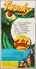 "Movie Posters:Science Fiction, The Twonky (United Artists, 1953). Three Sheet (41"" X 79""). ScienceFiction.. ..."