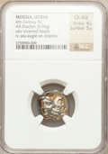 Ancients:Greek, Ancients: MOESIA. Istrus. Ca. 4th Century BC. AR drachm (5.94gm)....