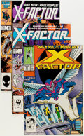 Modern Age (1980-Present):Superhero, X-Factor Group (Marvel, 1986-1998) Condition: Average NM....
