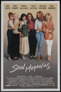 "Steel Magnolias Lot (Tri Star Pictures, 1989). One Sheets (2) (27"" X 41""). Drama. ... (Total: 2 Items)"