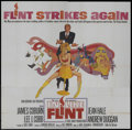 """Movie Posters:Action, In Like Flint (20th Century Fox, 1967). Six Sheet (81"""" X 81"""").Action. ..."""
