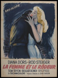 """Movie Posters:Crime, The Unholy Wife (RKO, 1957). French Grande (47"""" X 63""""). Crime. ..."""