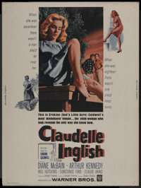 "Claudelle Inglish Lot (Warner Brothers, 1961). Posters (2) (30"" X 40""). Drama. ... (Total: 2 Items)"