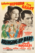 "Movie Posters:Comedy, Bringing Up Baby (RKO, 1938). One Sheet (27"" X 41"").. ..."