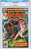 Bronze Age (1970-1979):Adventure, Marvel Feature #5 Red Sonja (Marvel, 1976) CGC NM+ 9.6 Whitepages....