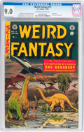 Golden Age (1938-1955):Science Fiction, Weird Fantasy #17 (EC, 1953) CGC VF/NM 9.0 Off-white to whitepages....