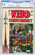 Golden Age (1938-1955):Science Fiction, Weird Science-Fantasy #25 (EC, 1954) CGC VF+ 8.5 White pages....