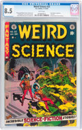 Golden Age (1938-1955):Science Fiction, Weird Science #22 (EC, 1953) CGC VF+ 8.5 White pages....