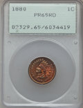Proof Indian Cents: , 1880 1C PR65 Red PCGS. PCGS Population (61/23). NGC Census: (25/10). Mintage: 3,955. Numismedia Wsl. Price for problem free...