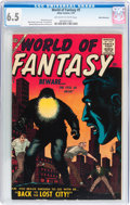 Silver Age (1956-1969):Horror, World of Fantasy #5 White Mountain pedigree (Atlas, 1957) CGC FN+6.5 Off-white to white pages....