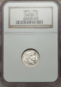 Barber Dimes: , 1907 10C MS65 NGC. NGC Census: (43/43). PCGS Population (45/14).Mintage: 22,220,576. Numismedia Wsl. Price for problem fre...